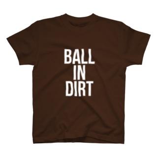 ワンバウンド投球Tシャツ T-shirts