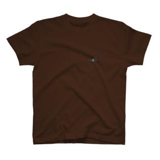クロハネシロヒゲナガ T-shirts
