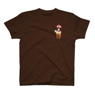 パラシュートとコーヒー T-shirts
