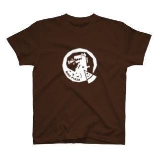 ディノピザ2BOX(白) T-shirts