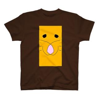 ライオンの顔 T-shirts