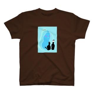 朝もや T-shirts