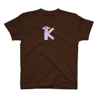 アルファベットTシャツK1 T-shirts