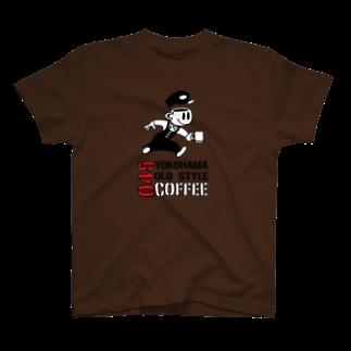 045COFFEE YOKOHAMAの045COFFEE B T-shirts