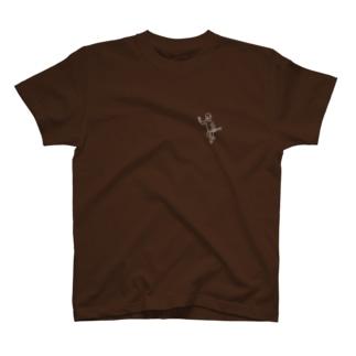 ジャズやさんのかべクラ!A T-shirts