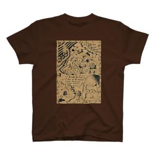栗原進@夢の空想画家のガルシア&イニエスタ T-shirts