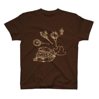 最中の金魚 T-shirts