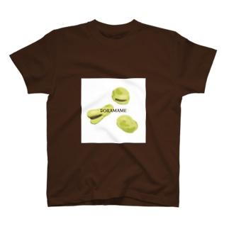 そらまめ3兄弟 T-shirts