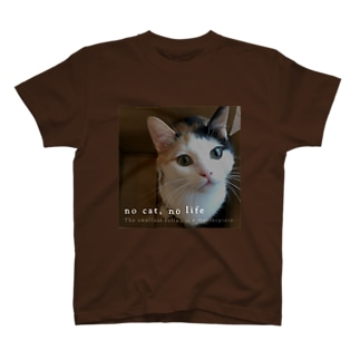 つくね*no cat no life T-shirts