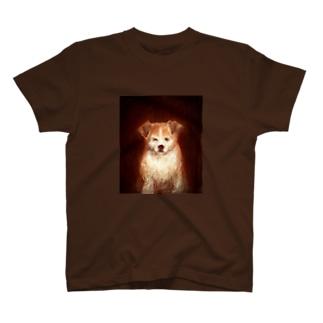 犬.tomoshibi T-shirts
