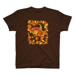 秋のごちそう T-shirts