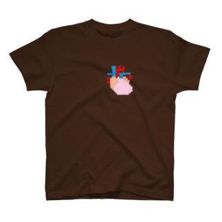 ハチビットハート T-shirts