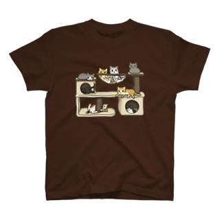 キャットタワー T-Shirt