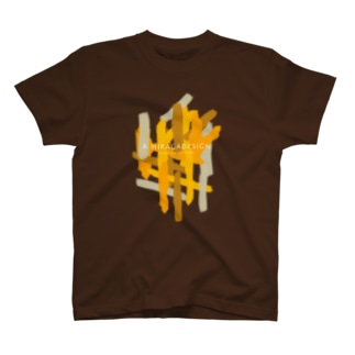 AHD_Lines_Orange T-shirts