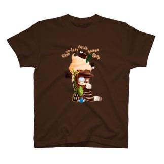 チョコレートミルクシェイクショップ T-shirts