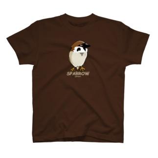 雀のちゅんちゃんだ T-Shirt