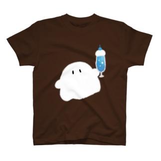 クリームソーダをくれるおばけちゃんズ T-shirts