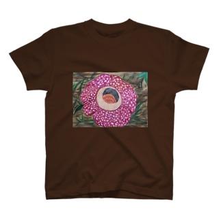 Flower(ラフレシア) T-shirts