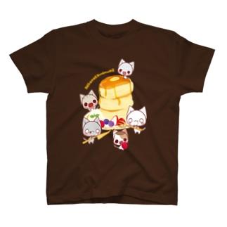 パンケーキパーティー T-shirts