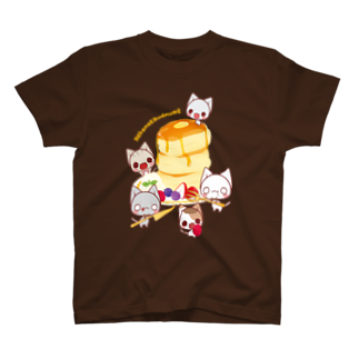 aska/ねこのかんづめのパンケーキパーティー T-shirts