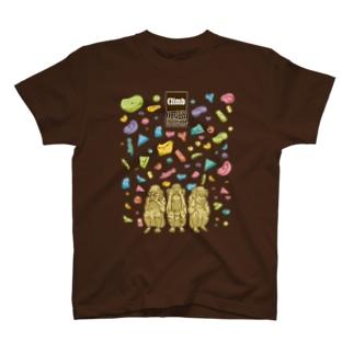 三猿〜Onsight Climbing〜 T-shirts