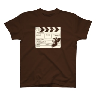 カチンコ(クリームインク) T-Shirt