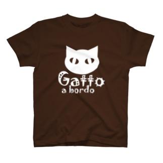 ♂猫が車に乗ってます T-shirts