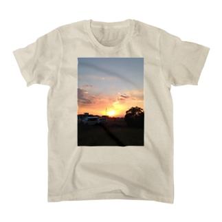 夕暮れ Tシャツ