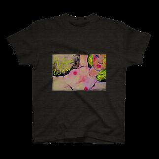 CHISATO NISHIMURA凹🎸のAS YOU WISH Tシャツ
