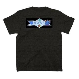 HW&Fの謎QRコード付きデザイン T-shirts