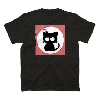 さくら黒ねこ T-shirts