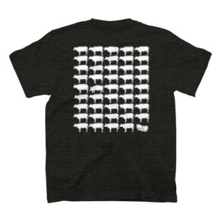 旨胃四牛 T-shirts