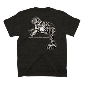 背中にユキヒョウTシャツ!part1 Snow leopard T-shirts