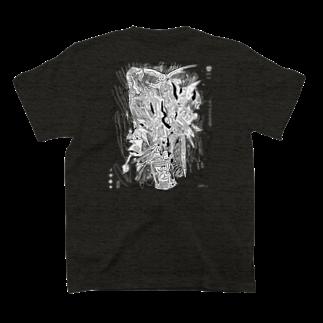あけたらしろめのORIS T-shirtsの裏面
