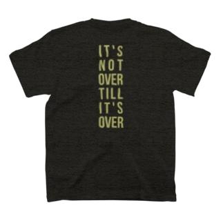 野球は9回2アウトからTシャツ ※背面プリント T-shirts