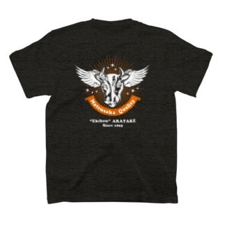 """[両面]Matsusaka Quality """"Black""""【株式会社新竹商店ライセンス品】 T-shirts"""