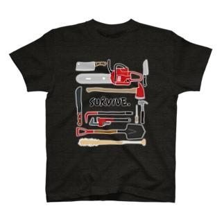生き残りグッズ T-shirts