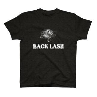バックラッシュ 糸がこんがらがってます T-shirts