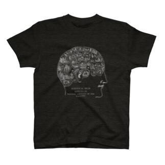 骨相学<アンティーク・イラスト> T-shirts