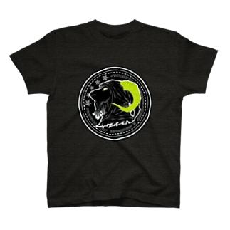 山羊ハーミット/黄緑 T-shirts