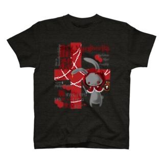 暗殺うさぎ T-shirts