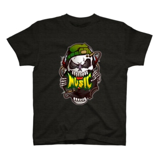 DJ髑髏 T-shirts