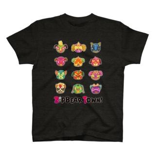 プルドック ルチャマスク T-shirts