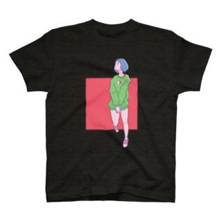 歩きスマホ T-shirts