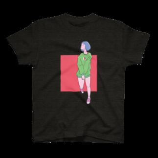 イノウエ向けアイテム販売所の歩きスマホ T-shirts