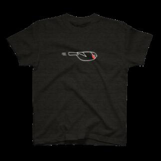 piro piro piccoloのFLYING USO -type A-(濃色用) T-shirts