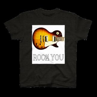Kengo KitajimaのROCK YOU 白バック T-shirts