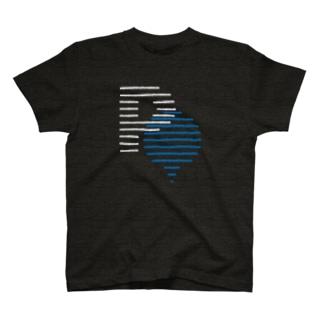 P × ペパポン(濃い色T用) T-shirts