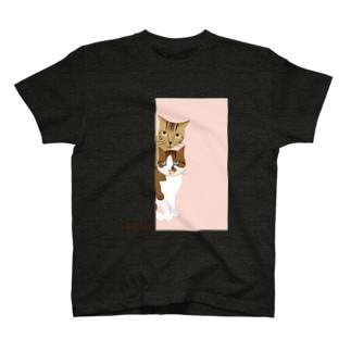 montan pink T-shirts