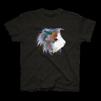 nins・にんずのカラフルペルビアン T-shirts